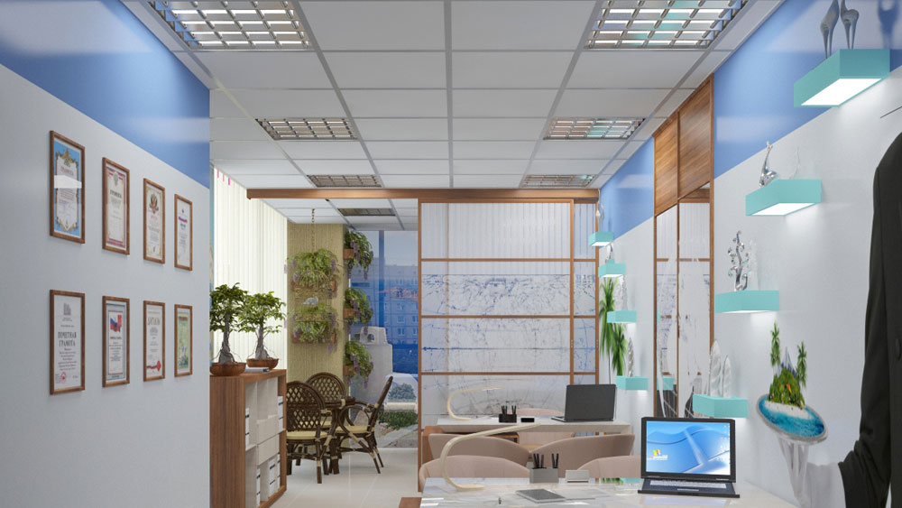 Дизайн офиса турфирмы: основные правила
