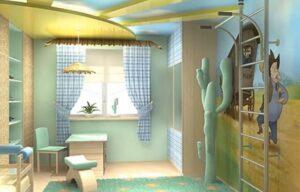Самостоятельный ремонт комнаты для мальчика подростка